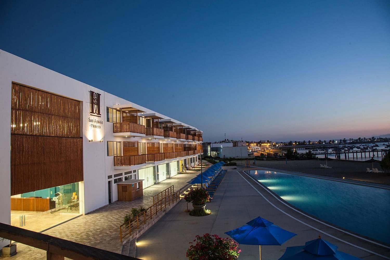 Galer a de fotos hotel san agustin paracas ica for Hoteles en paracas