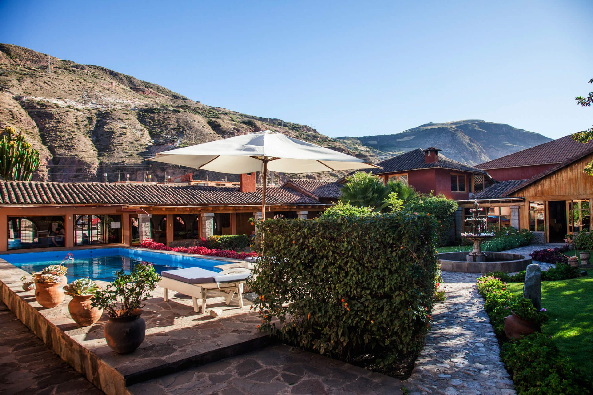 Hotel san agust n urubamba spa peru web oficial - Hotel valle aurina con piscina ...